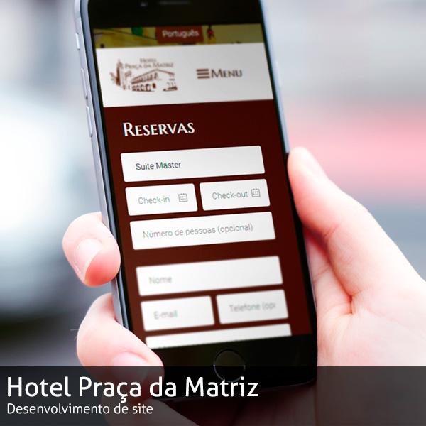 Site Hotel Praça da Matriz